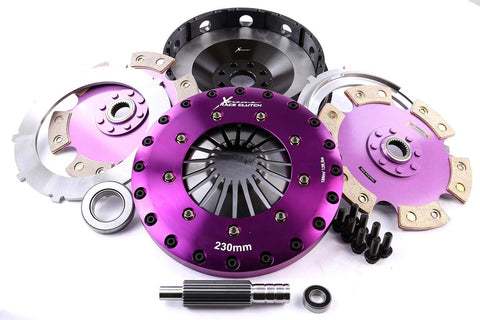 Xtreme Clutch Conversion kit - GM V8 SB 350 - ALBINS Transaxle 26x28.6mm