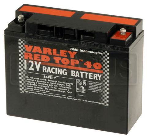 Varley Red Top 40 Race Battery - Group-D