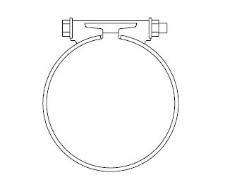 3.5 Inch Bandclamp - Group-D