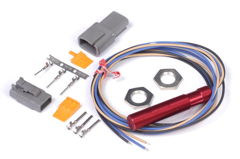"""Red"" Single Channel Hall Effect Sensor Thread: M12x1.0 - Group-D"