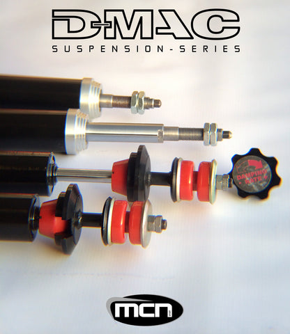 D-MAC AE86 ADJUSTABLE DAMPER SET OF 4 (LONGSTROKE)
