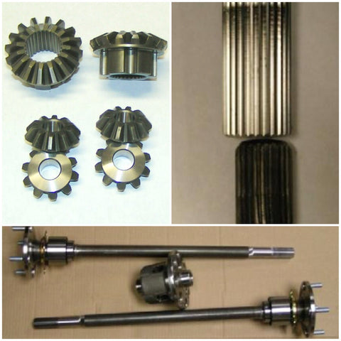 28mm AE86 HALF SHAFTS KIT KAAZ/TOMEI LSD - Group-D