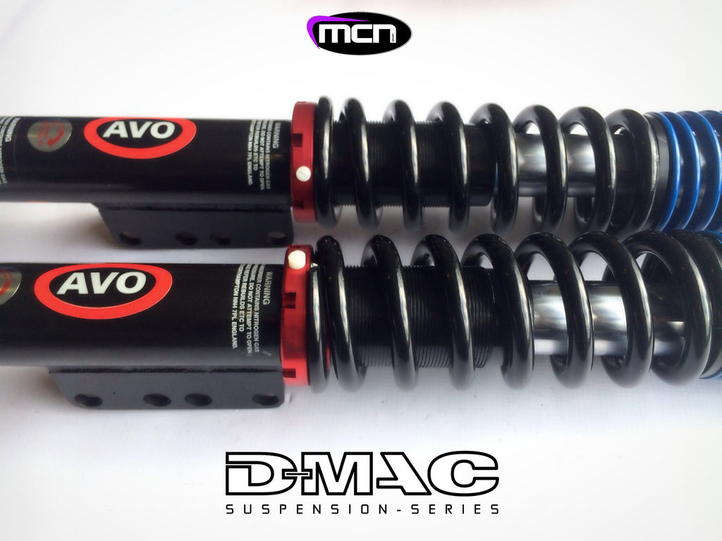 D-MAC COILOVER SYSTEM 3 WAY ADJ (S13/14/15) FRONT PAIR
