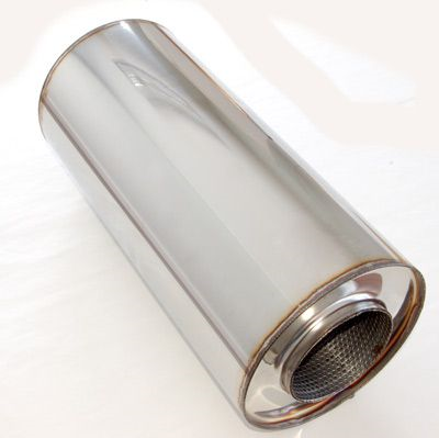 4 Inch Motorsport Silencer Medium - Group-D