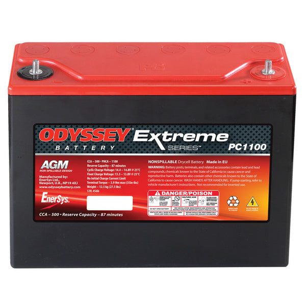 Odyssey Extreme Racing 40 Battery - Group-D