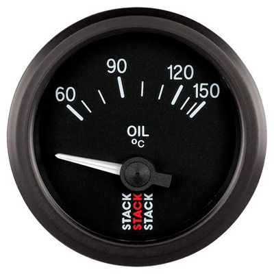 Stack Oil Temperature Gauge - Electrical