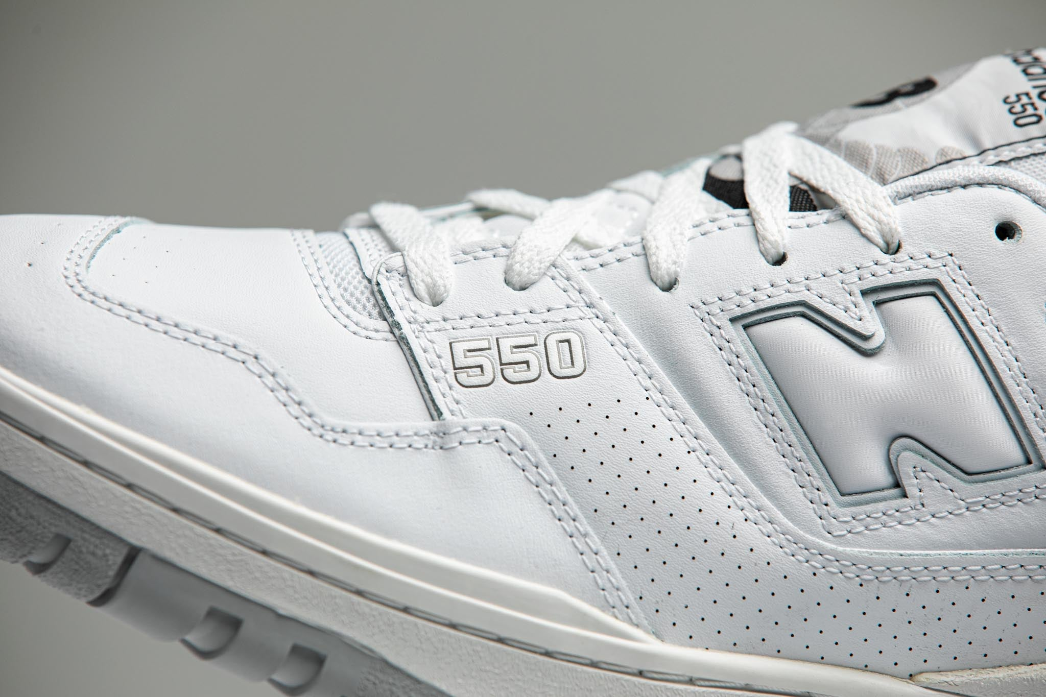 New Balance BB550PB1 'Triple White' - 2