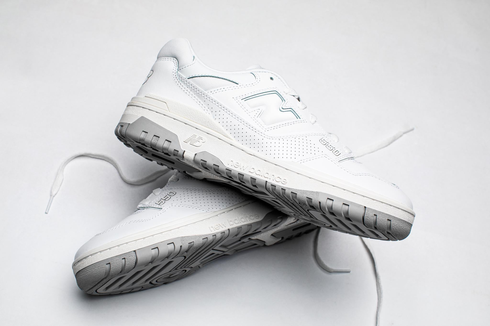 New Balance BB550PB1 'Triple White' - 1