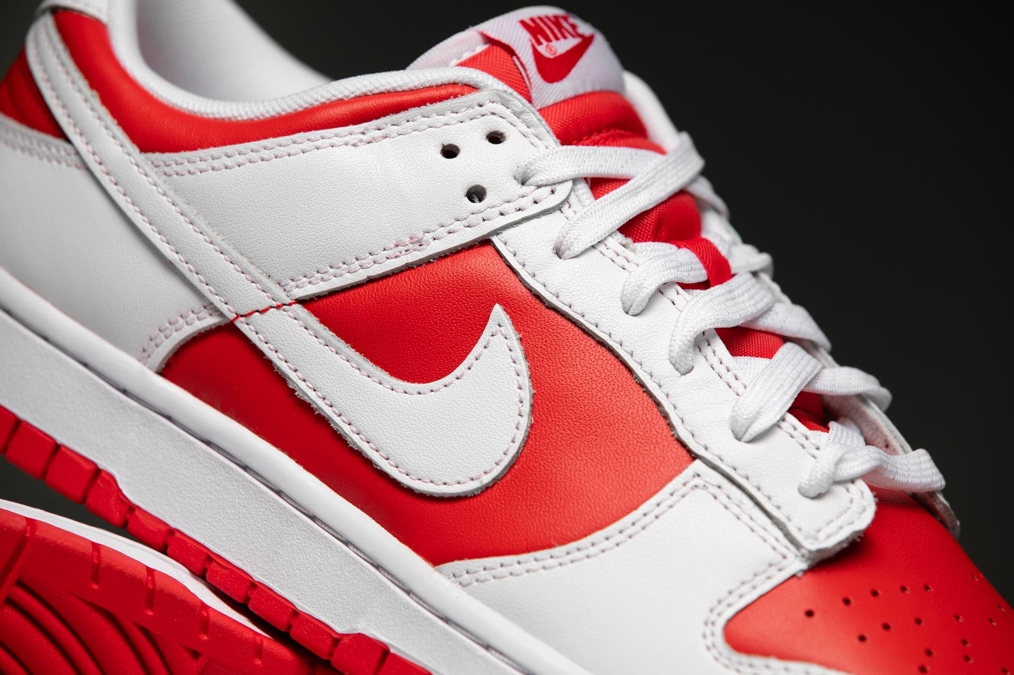 Nike Dunk Low 'Championship Red' - 2
