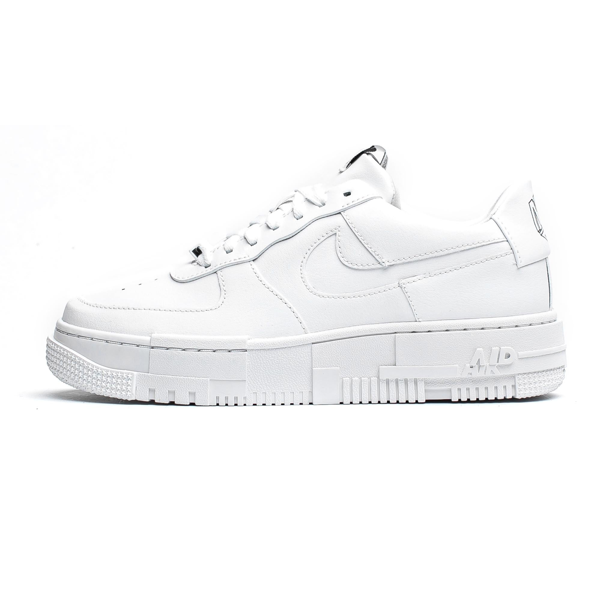 Nike Air Force 1 Pixel 'Triple White'