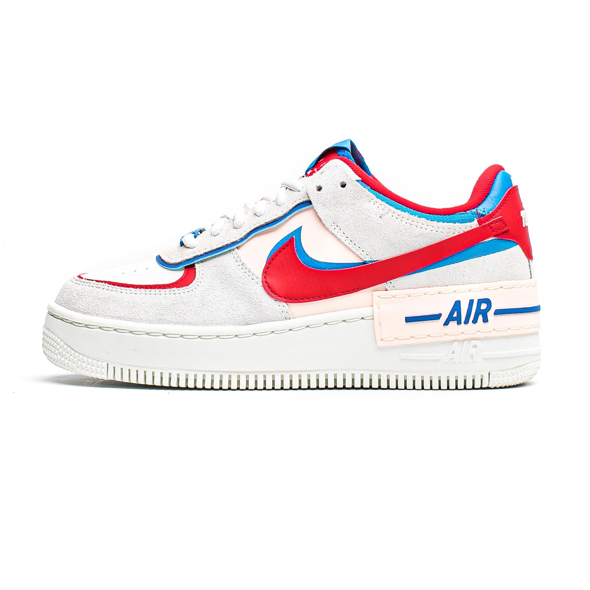 Nike Air Force 1 Shadow 'Sail/University Red'