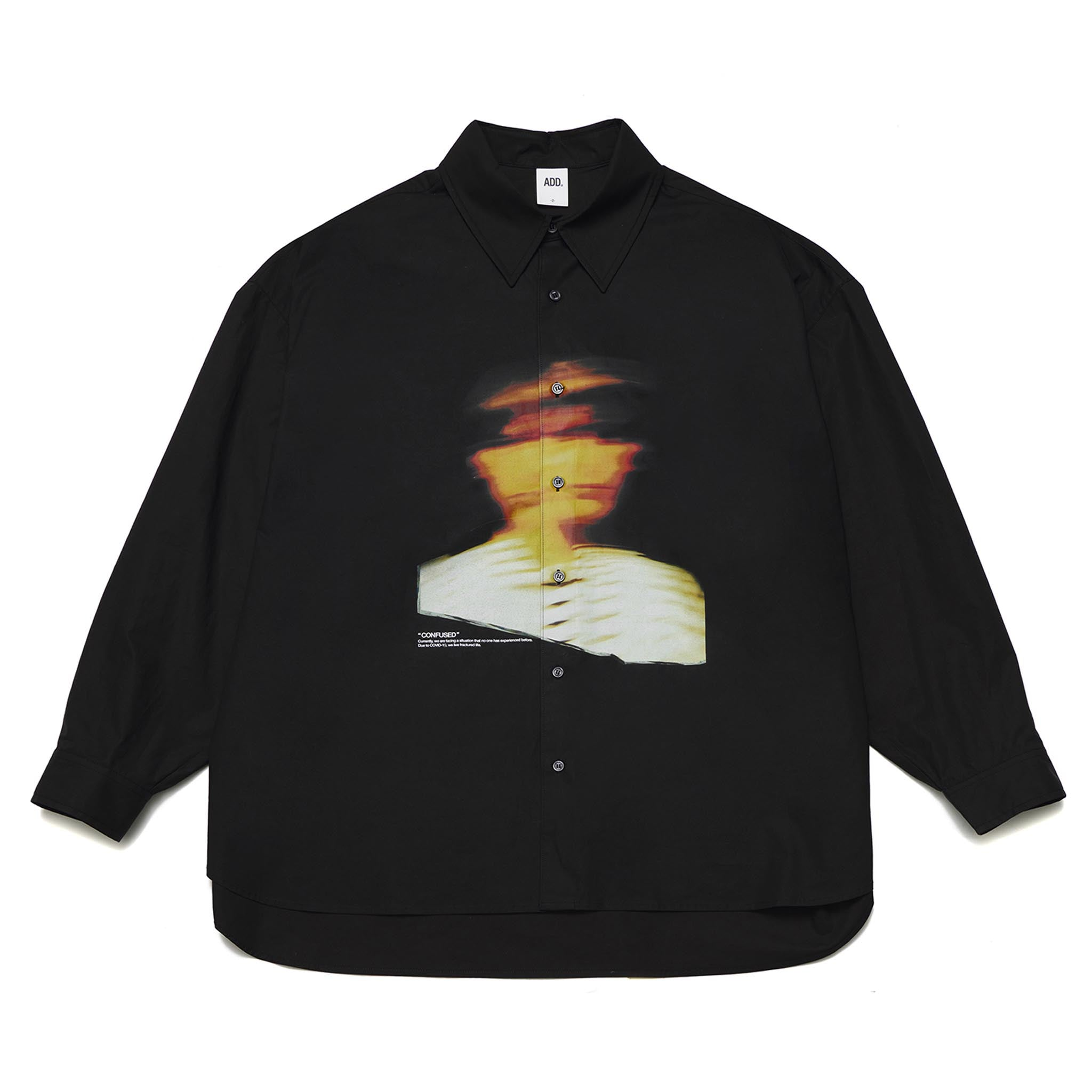 ADD Mayday 19 Graphic Avantgarde Shirt Black