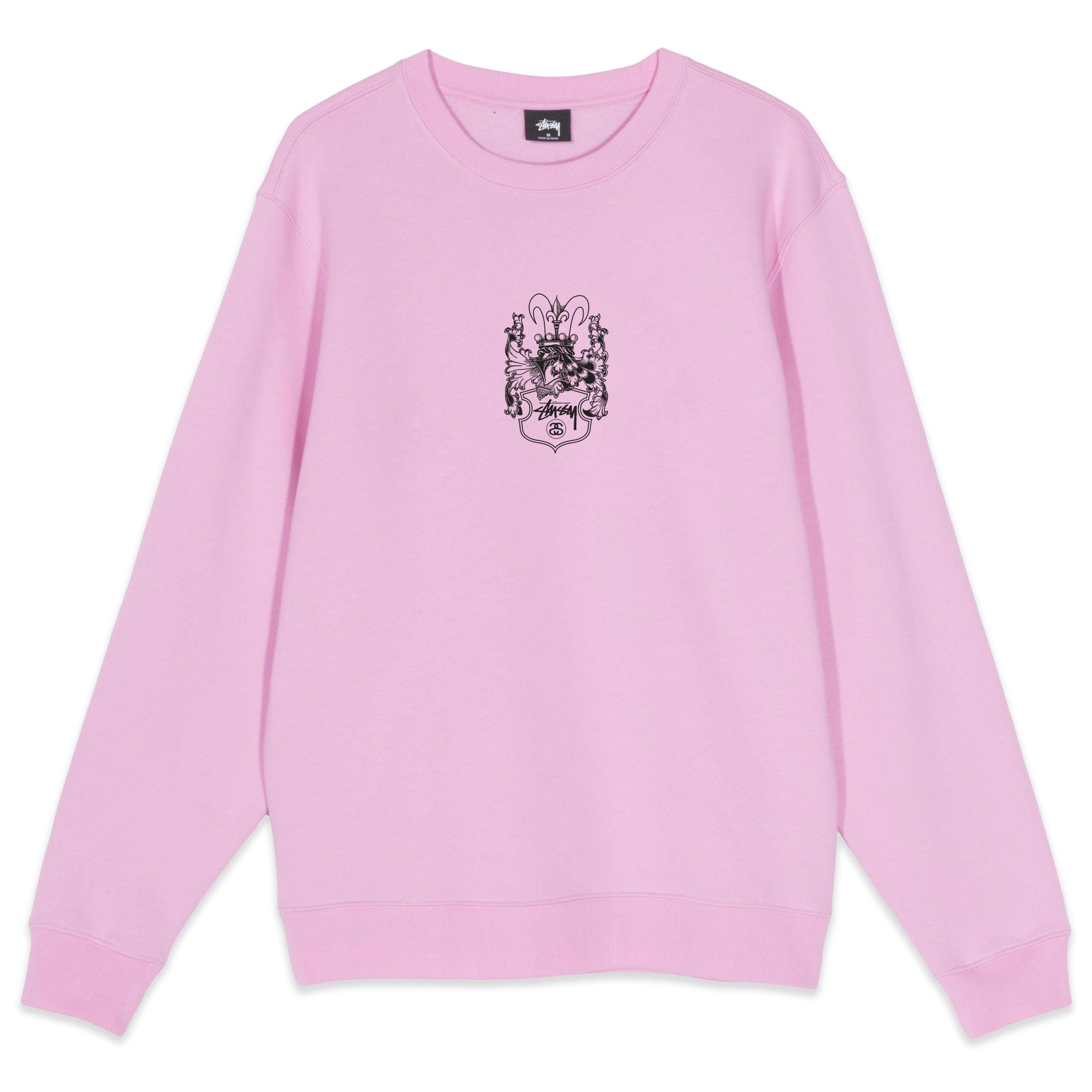 Stussy True To This Crewneck Pink