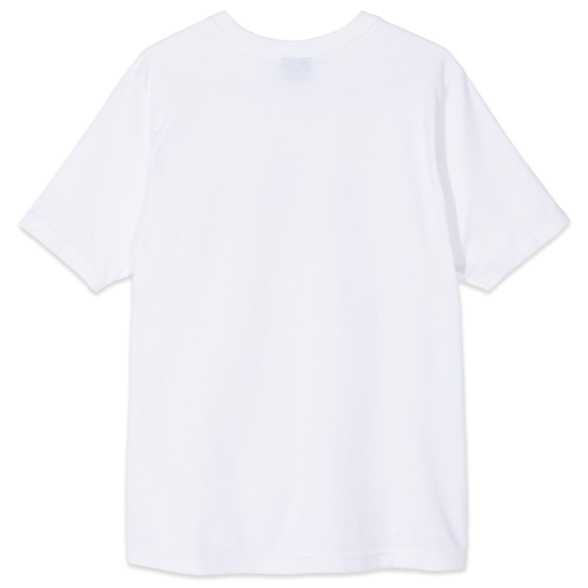 Stussy Quarter Oval Stock Tee White