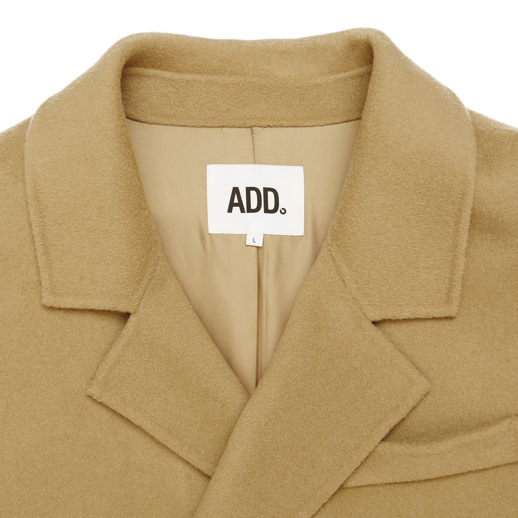 ADD Essential Coat Beige