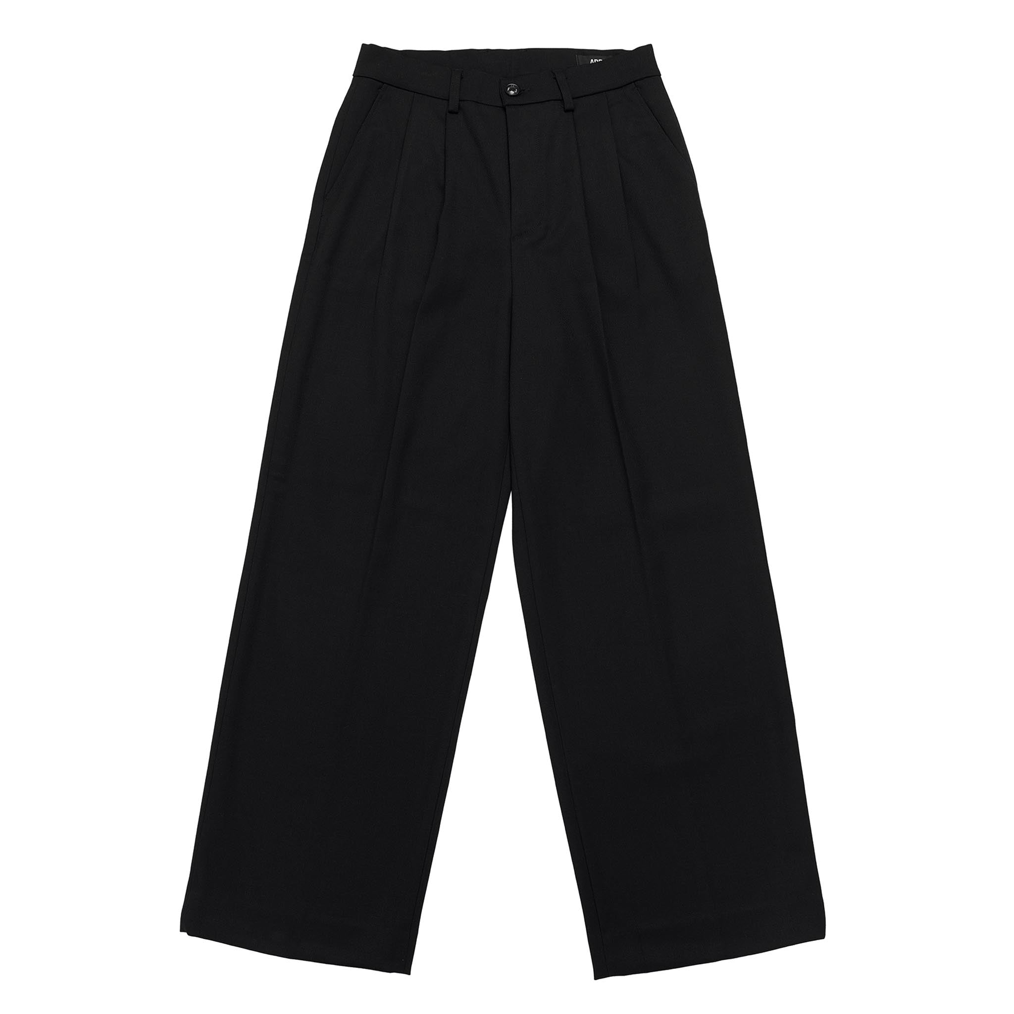 ADD Extra Superwide Slacks Black