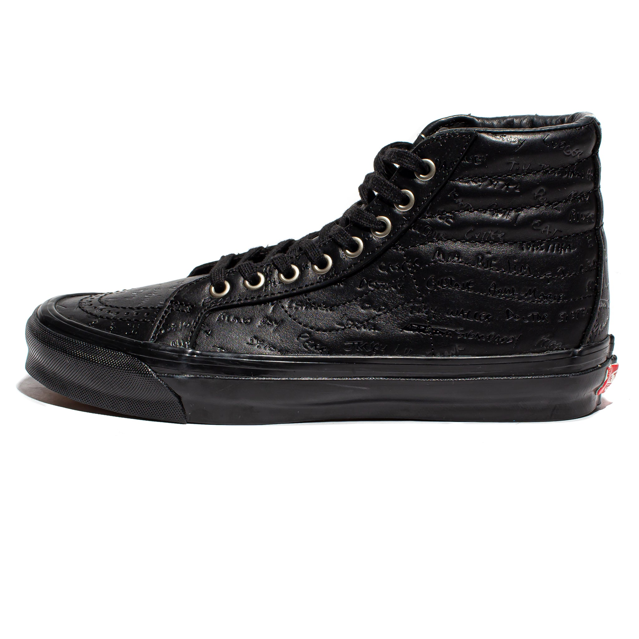 Vans Vault x Jim Goldberg OG SK8-HI LX 'Black Leather'