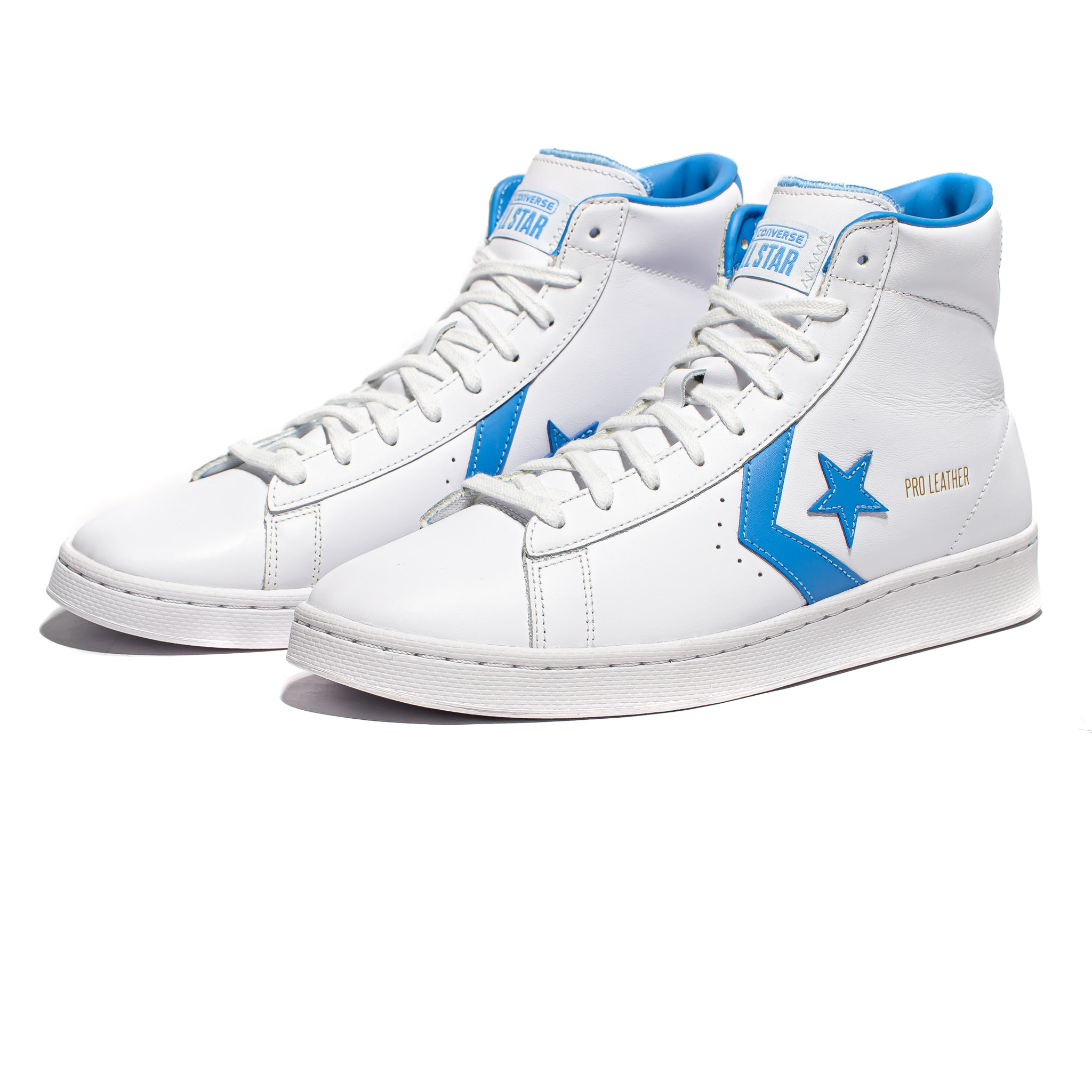 Converse Pro Leather Mid - White/Coast Blue