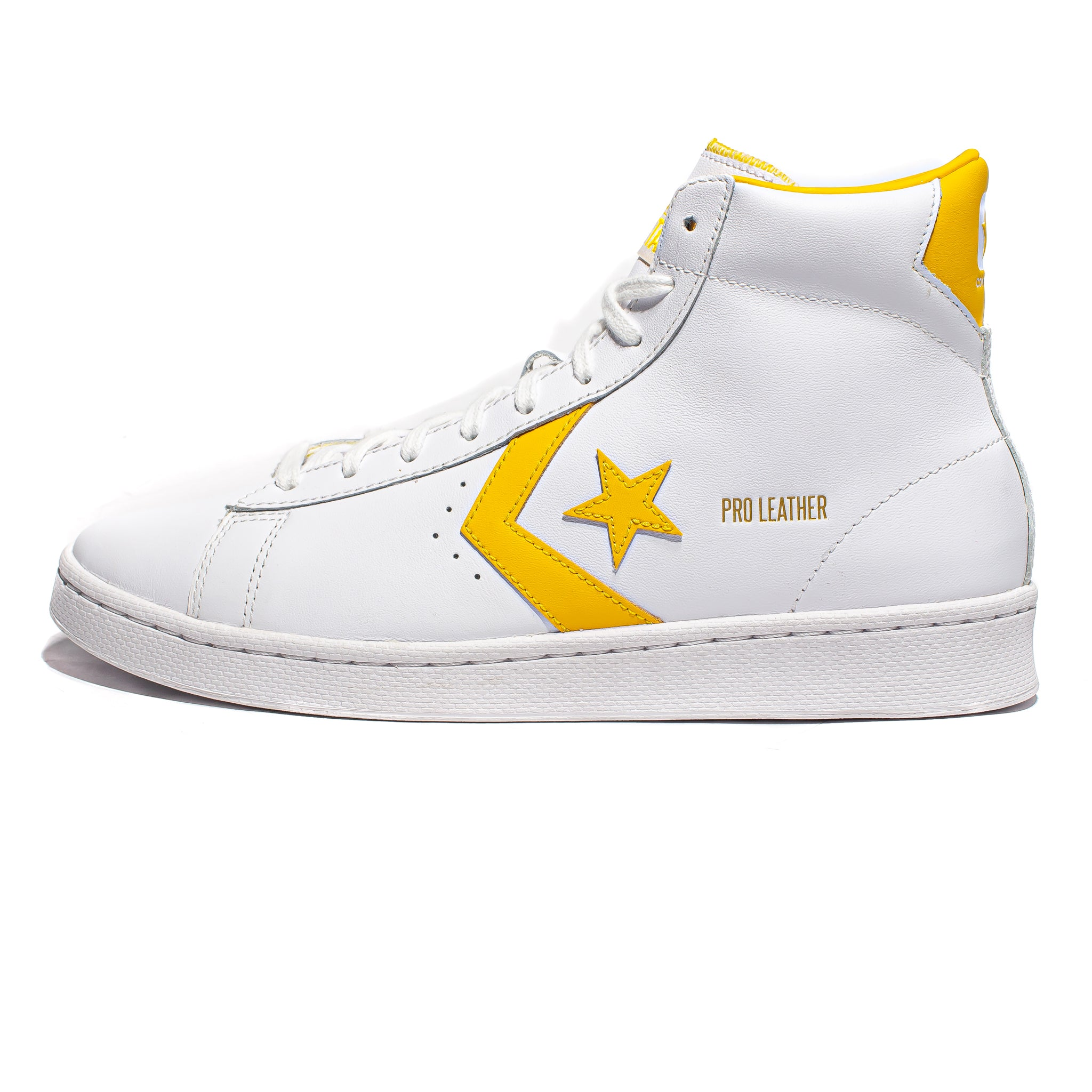 Converse Pro Leather Mid - White/Amarillo
