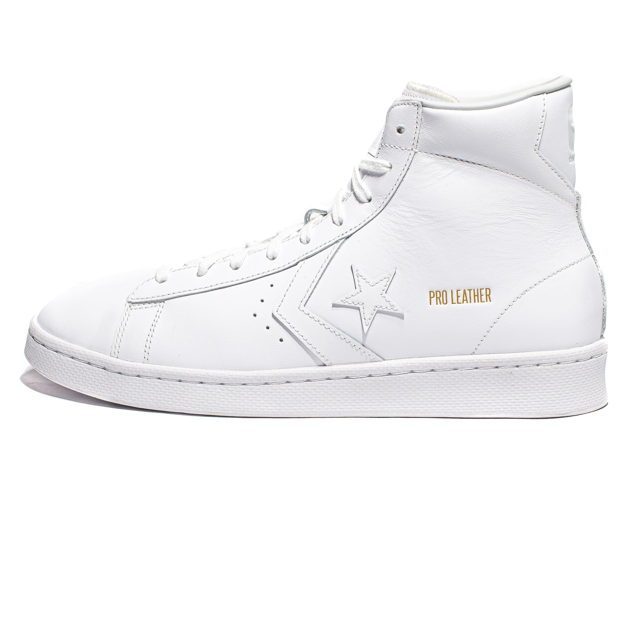 Converse Pro Leather Mid - White/White