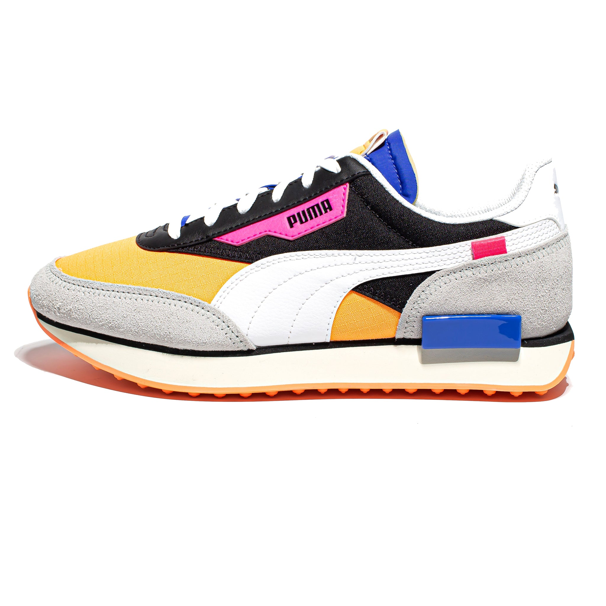 Puma Future Rider 'Play On' Black/Fizzy Orange
