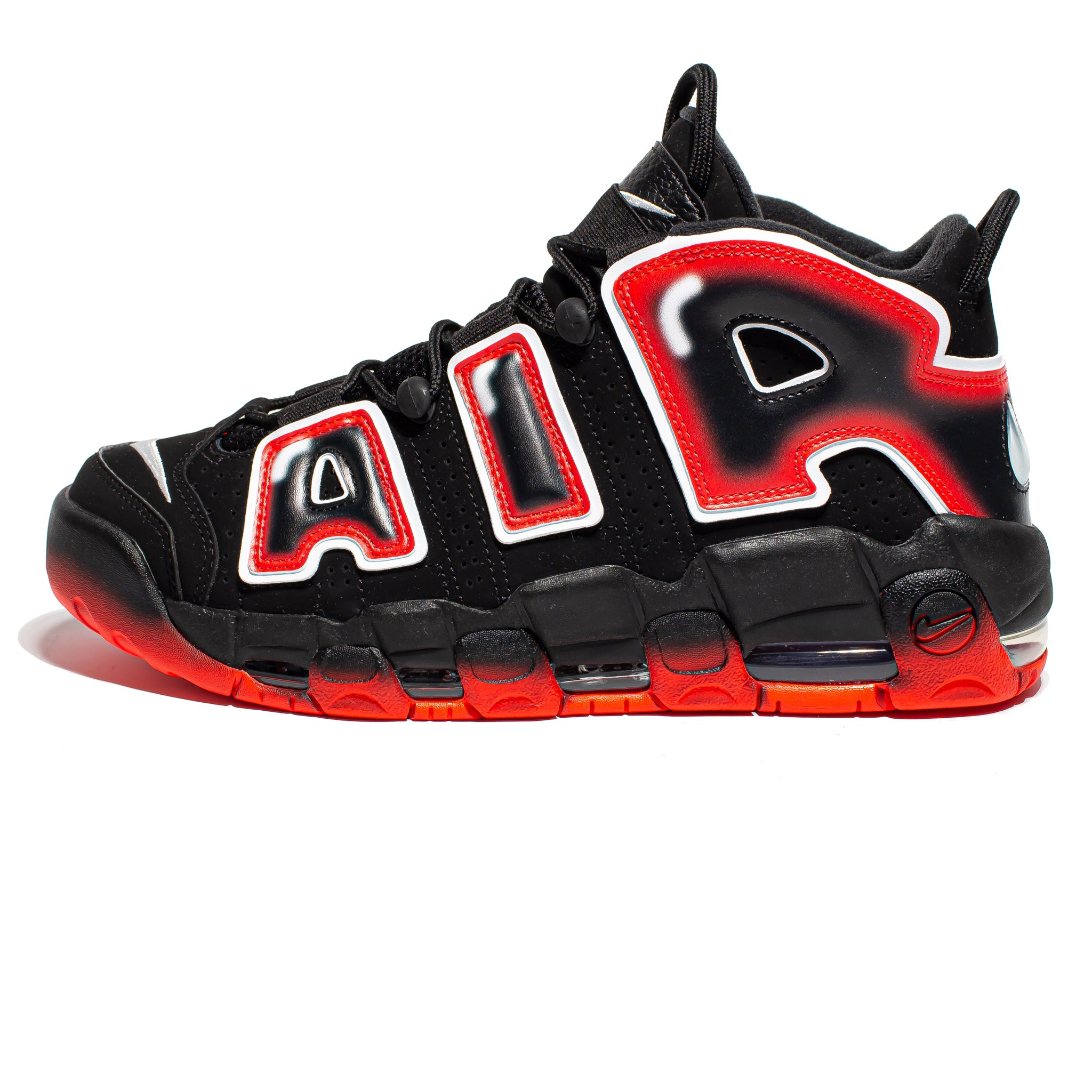 Nike Air More Uptempo 'Laser Crimson'