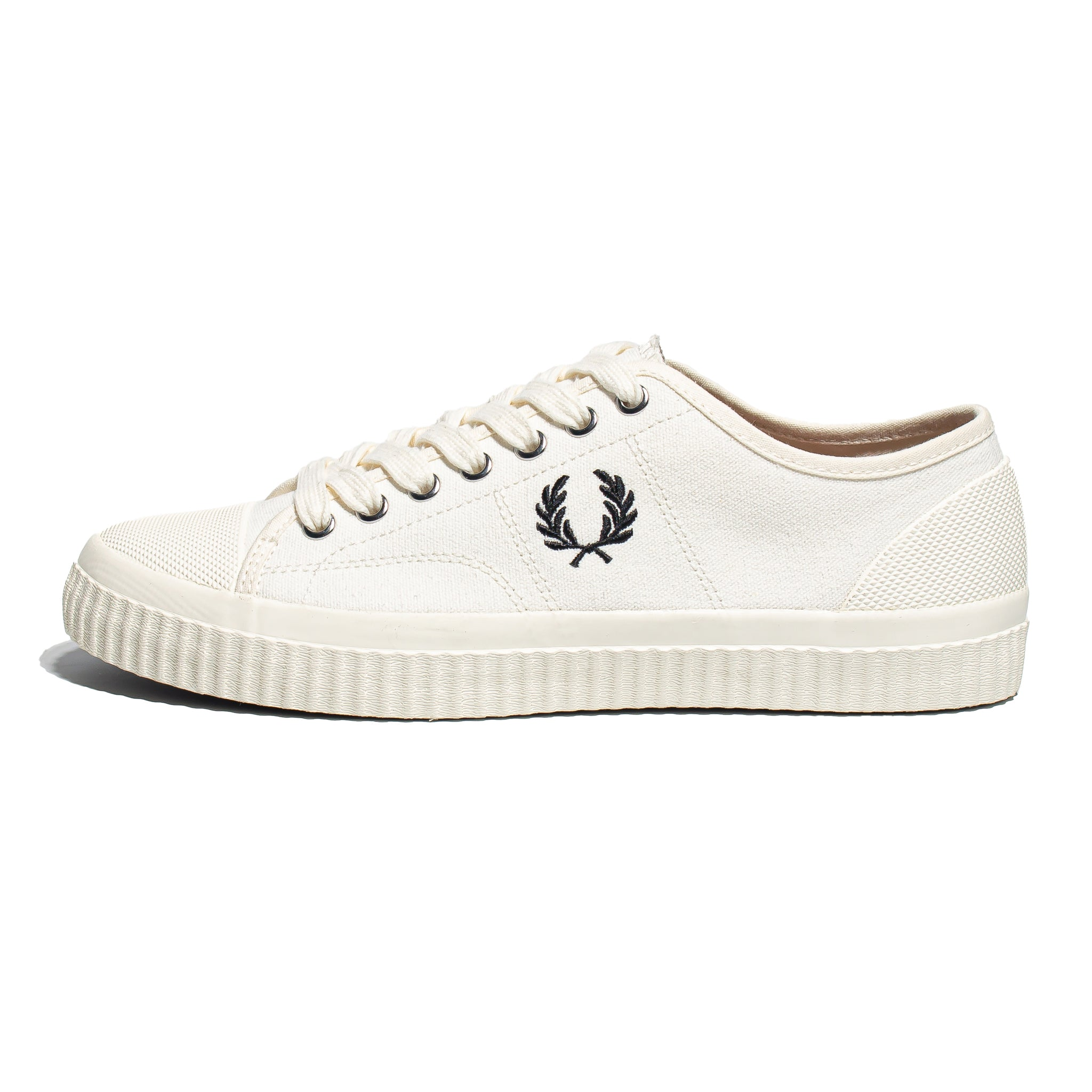 Fred Perry Hughes Low Canvas Light Ecru