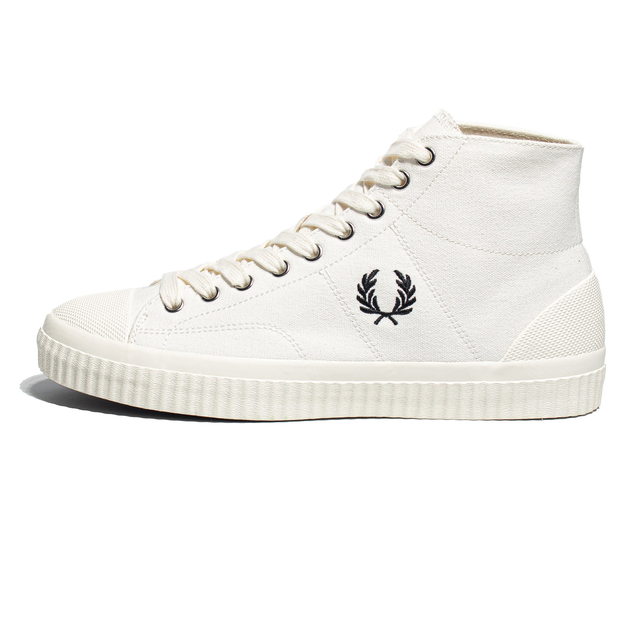 Fred Perry Hughes Mid Canvas Light Ecru