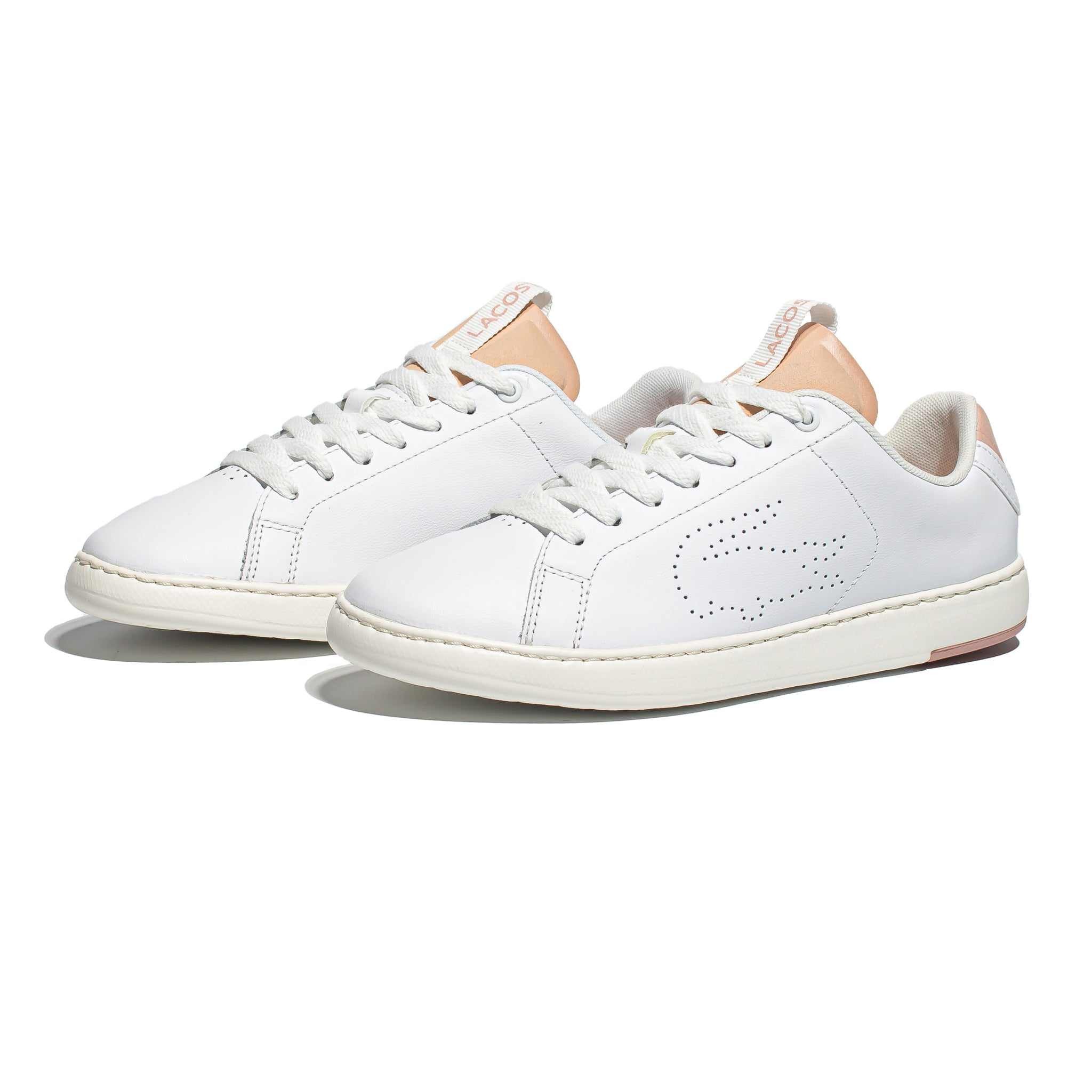 Lacoste Carnaby Evo Light White/Blush