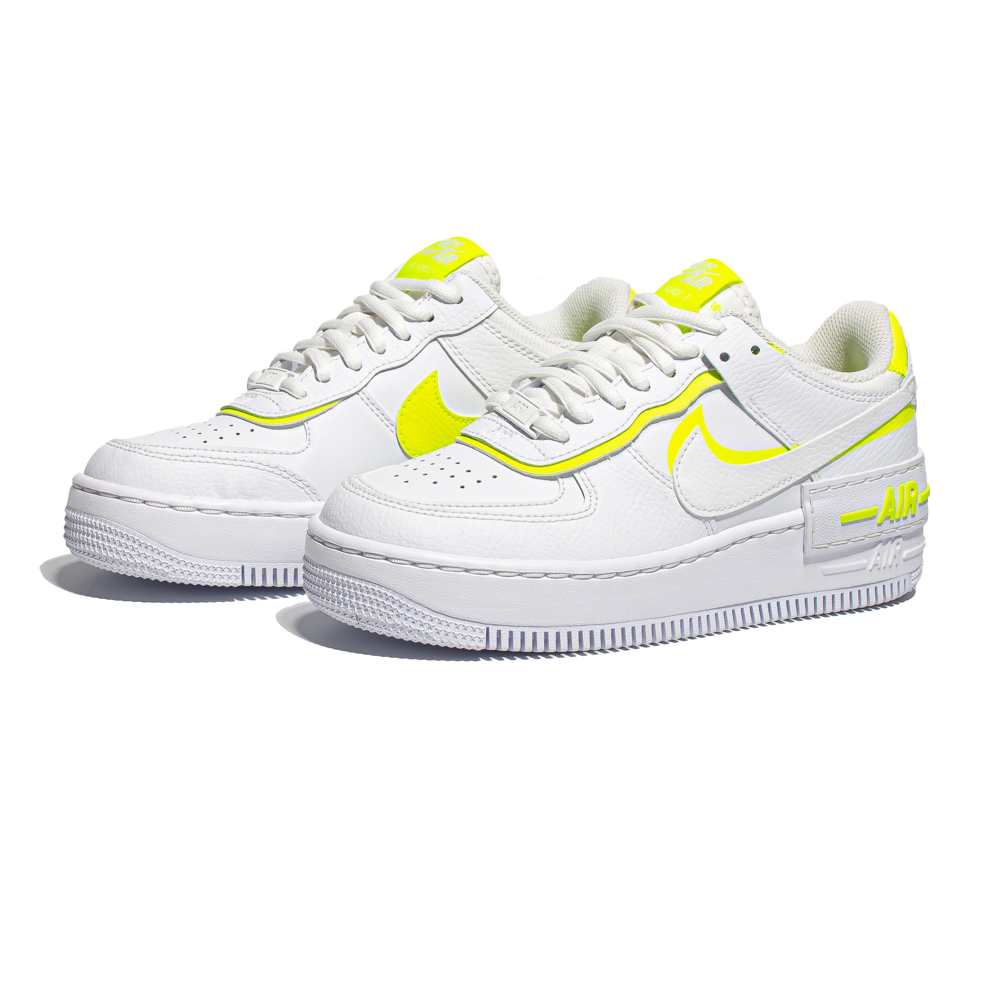 Nike Air Force 1 Shadow 'White/Lemon Venom'