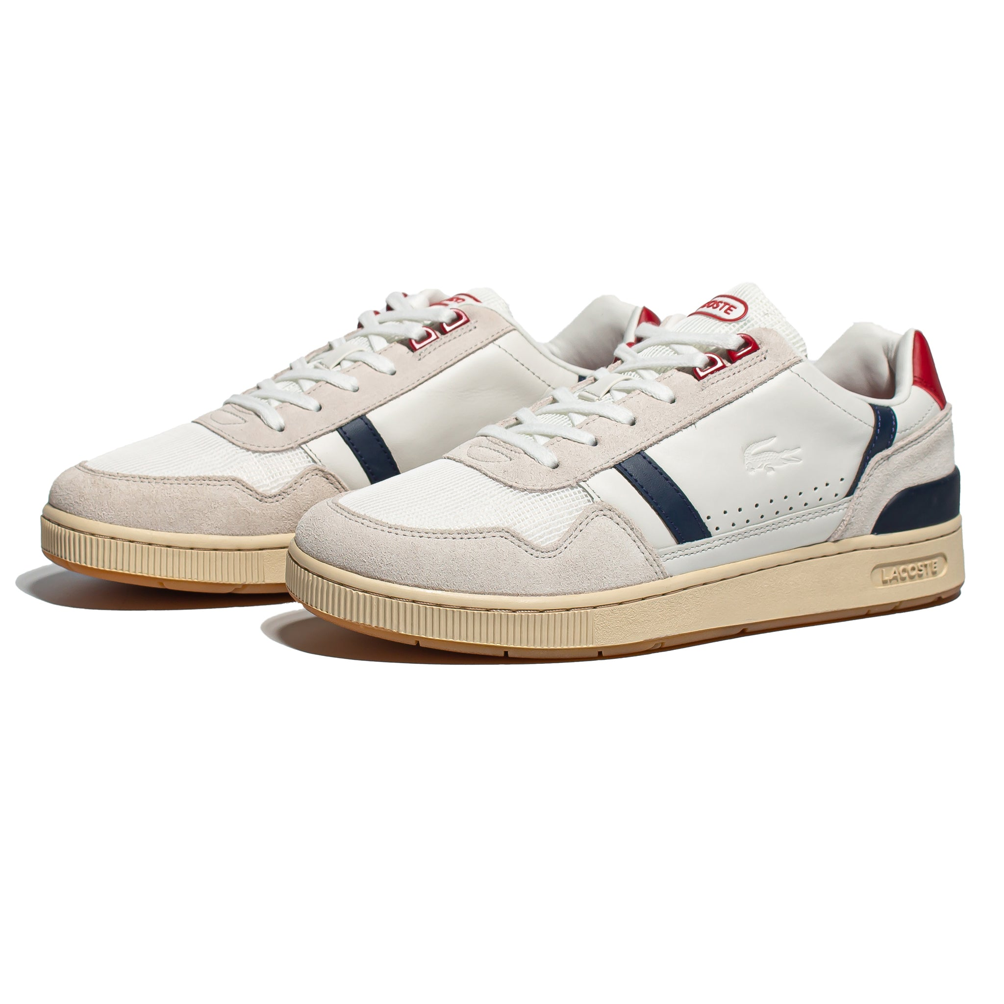 Lacoste T-Clip 120 Off White/Navy/Red
