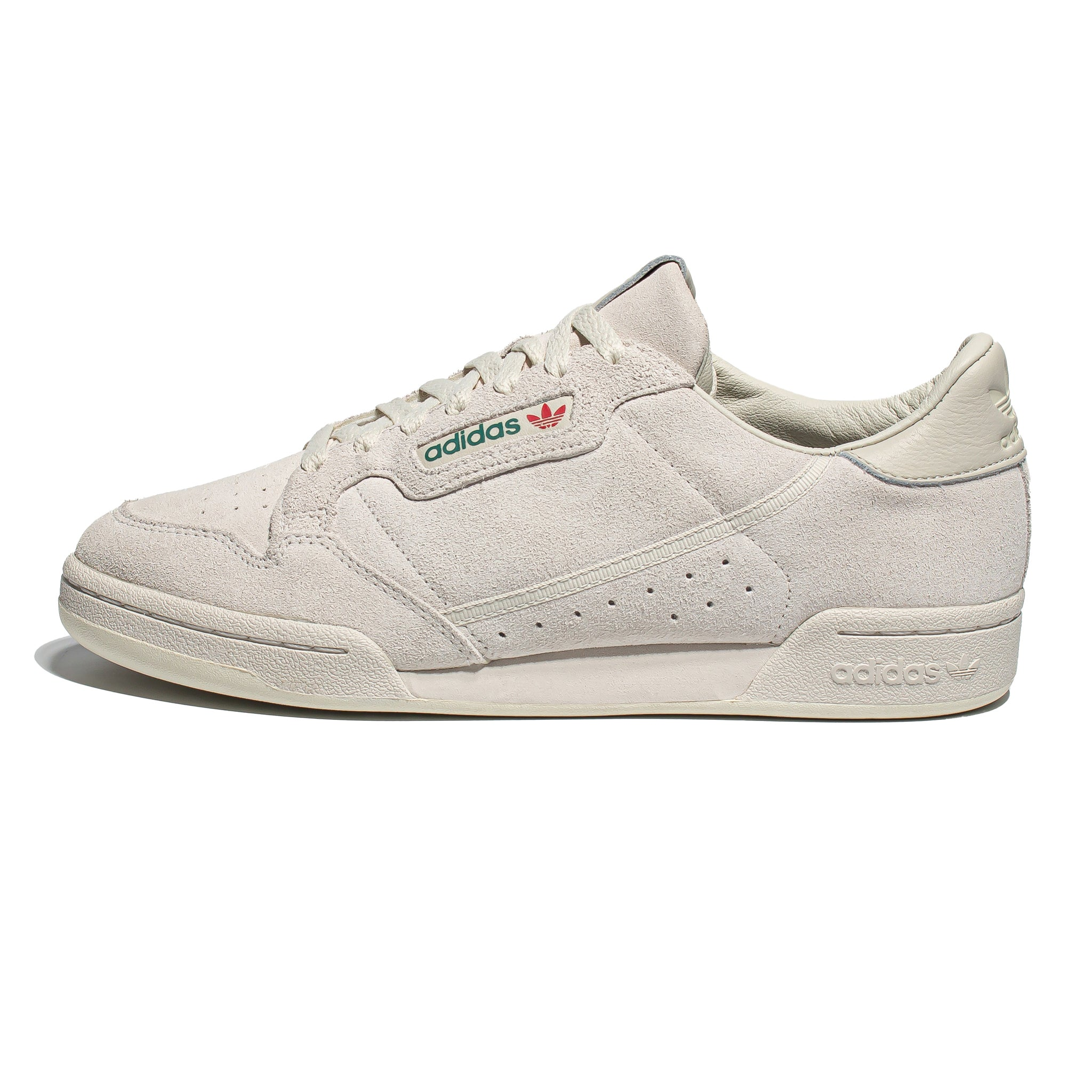 Adidas Continental 80 Suede Raw White