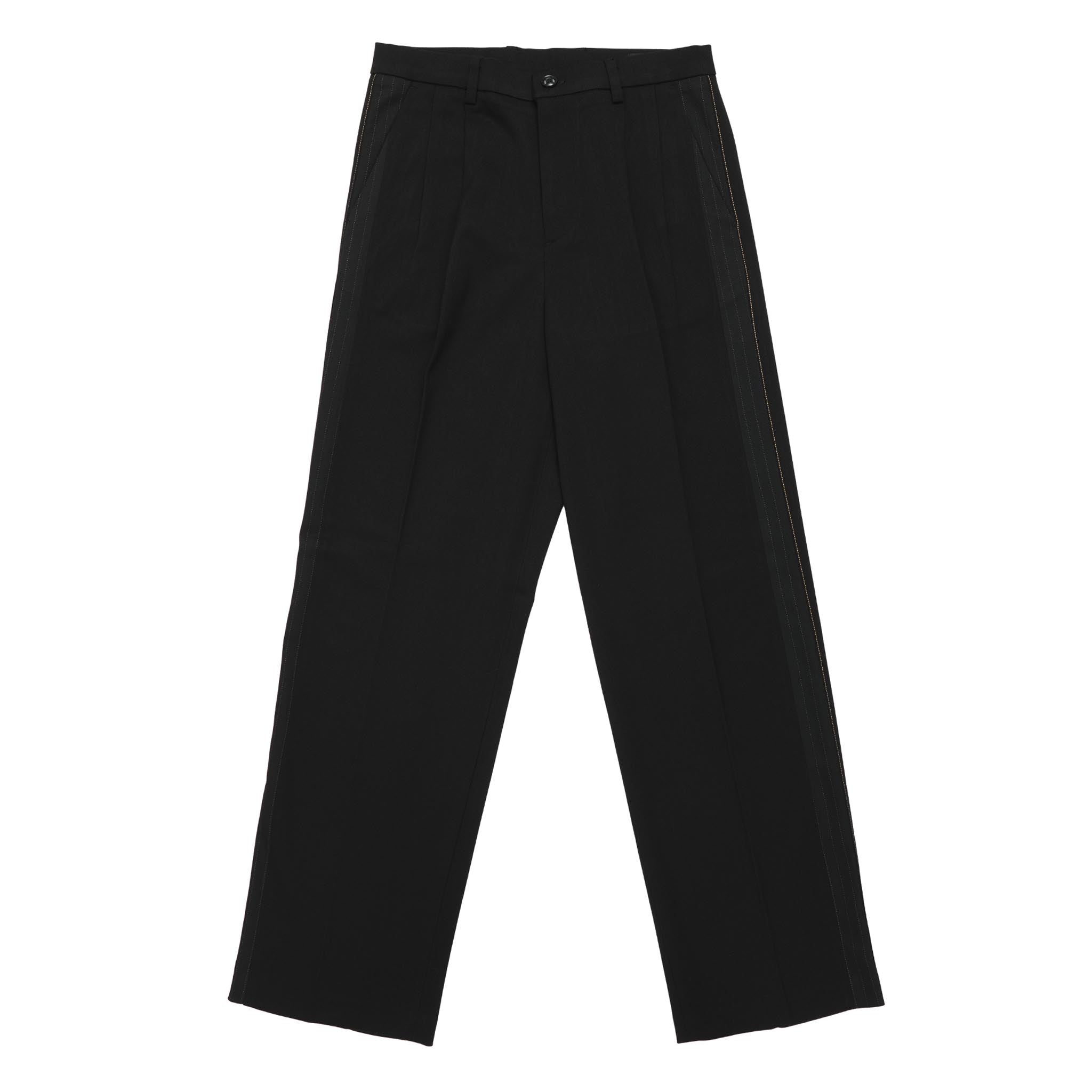 ADD Panel Wide Slacks Black
