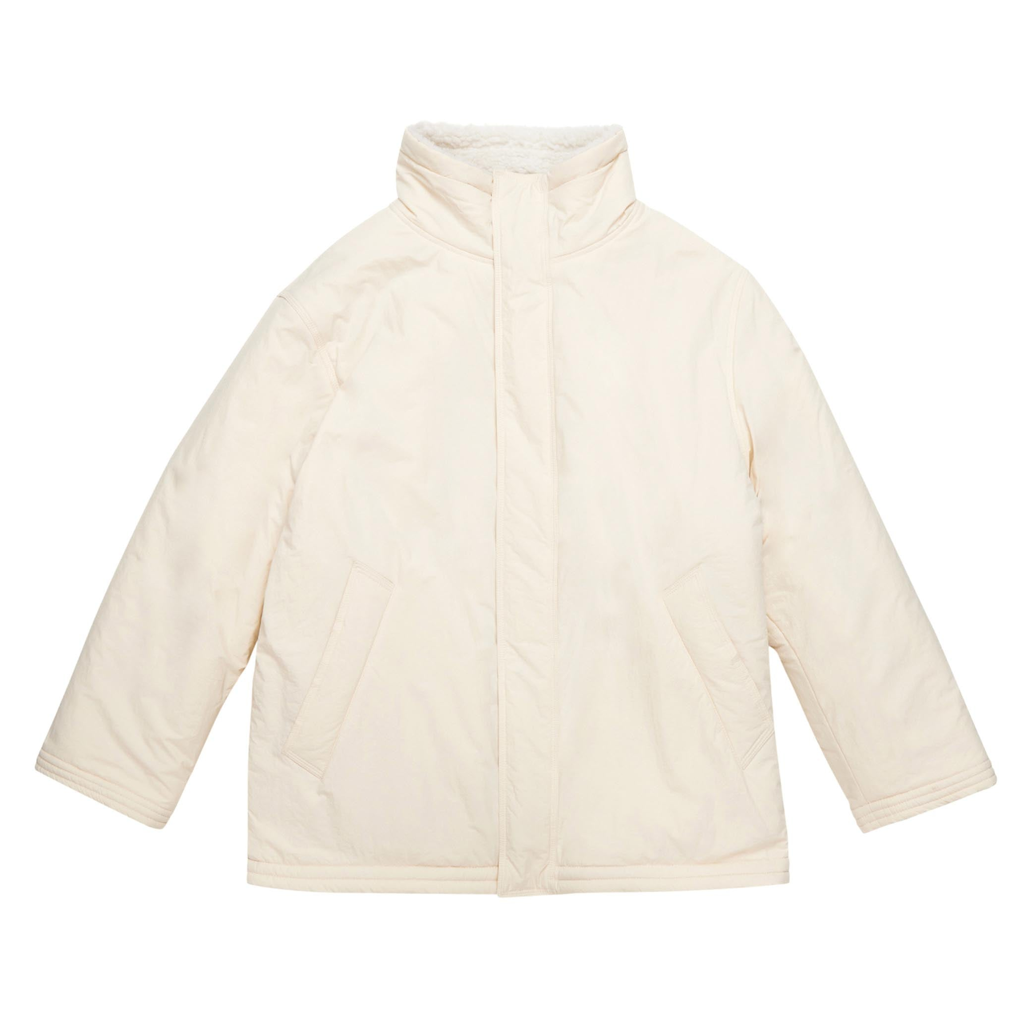 ADD Reversible Dumble Oversized Jacket Ivory