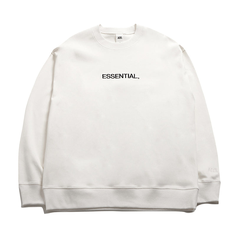 ADD Essential Sweatshirt Off-White