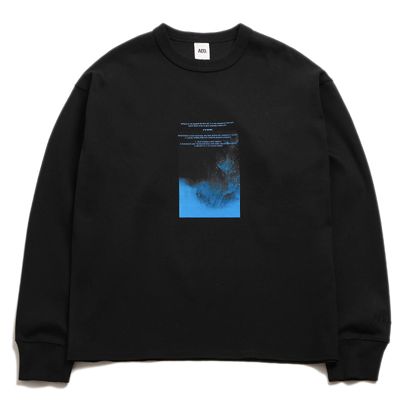 ADD Watercolor Sweatshirt Black