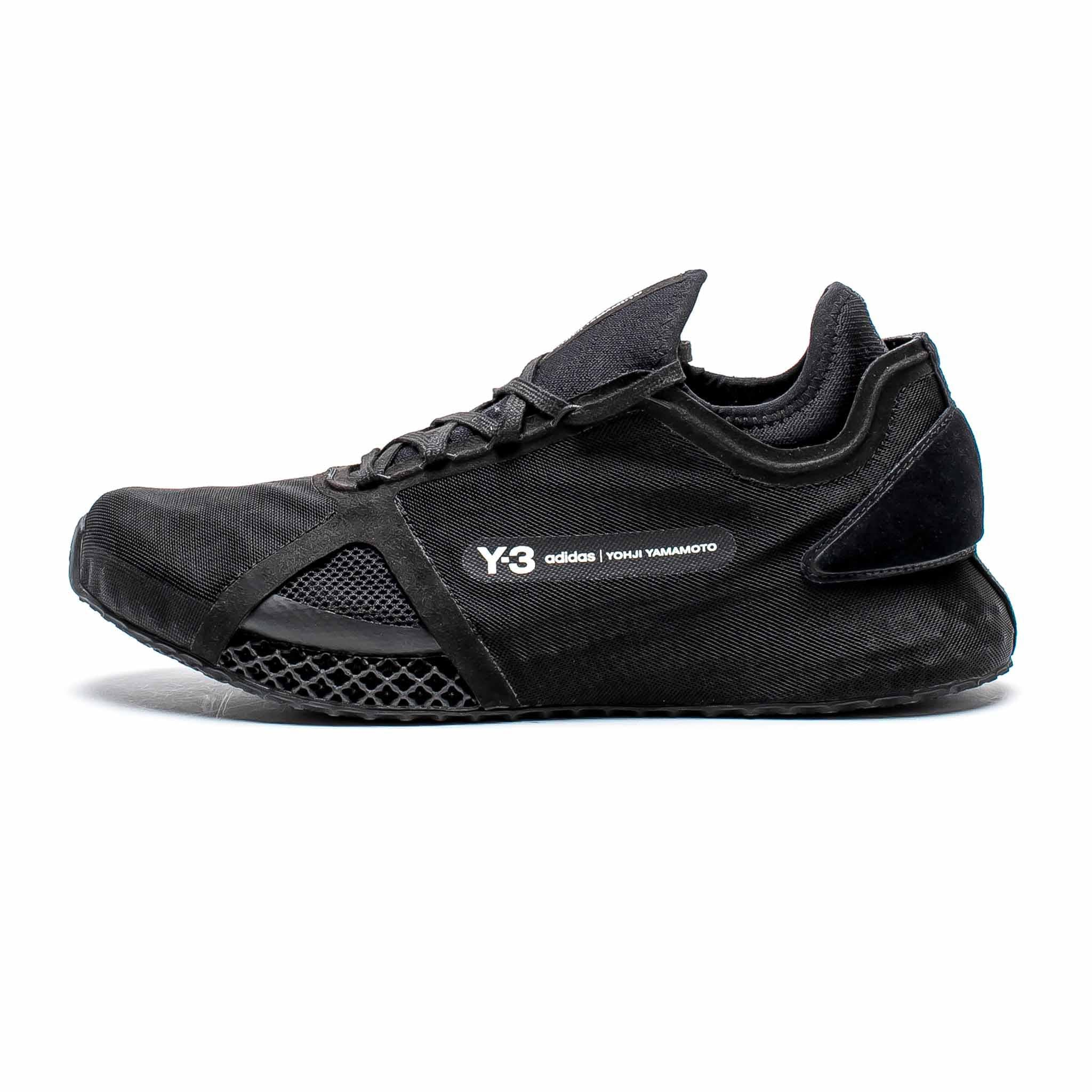 ADIDAS Y-3 Runner 4D IO Triple Black
