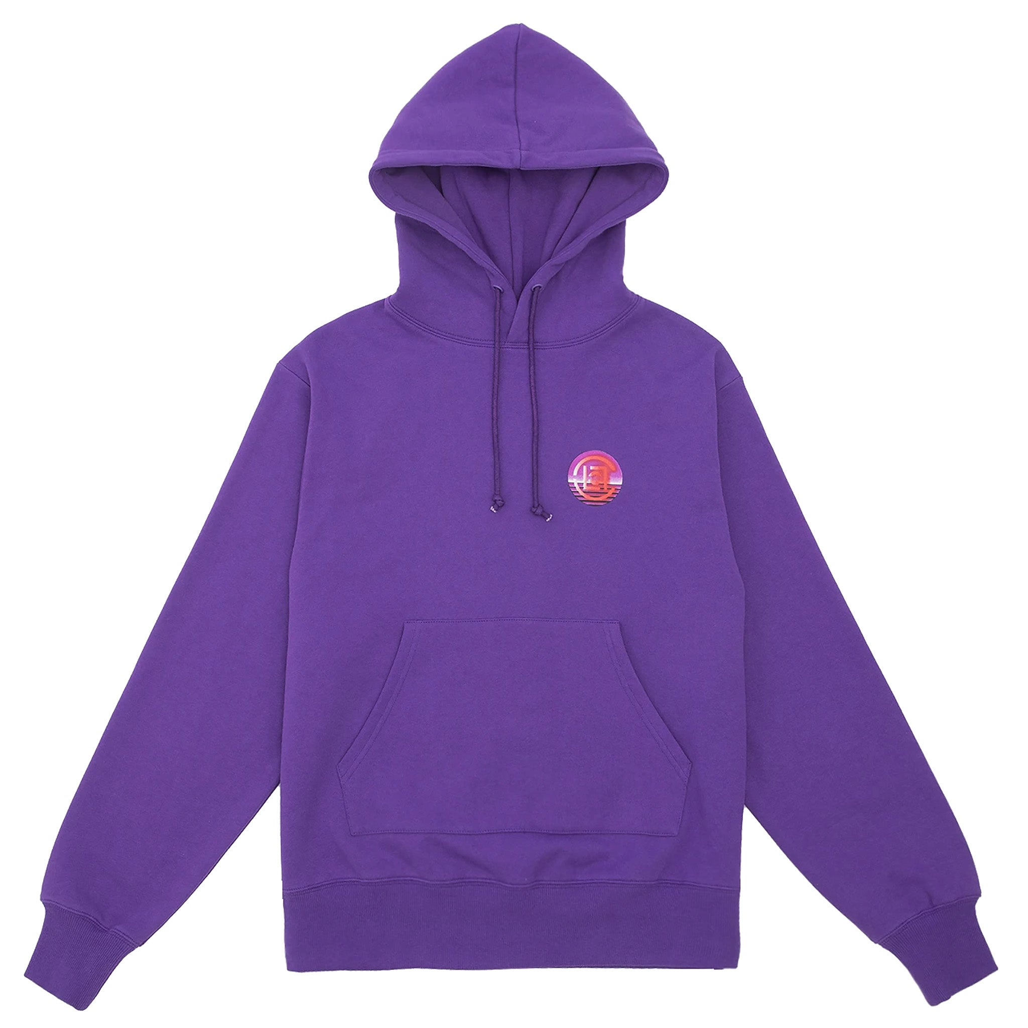 Clot Dimension Hoodie Purple
