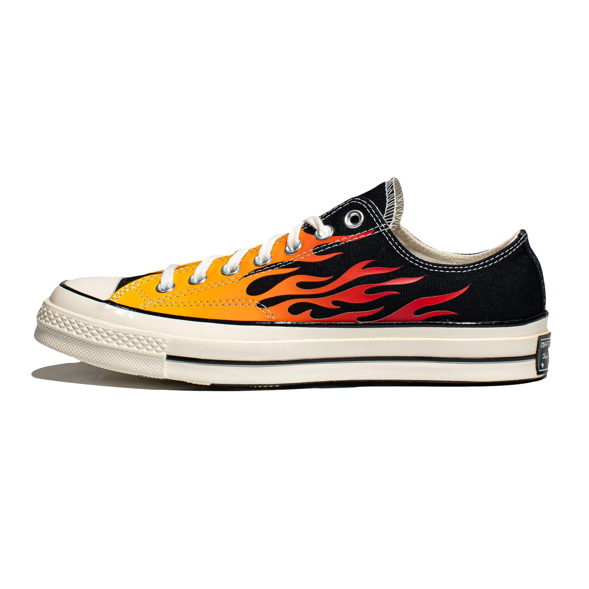 Converse Chuck 70 Low 'Archive Print' Black/Enamel Red