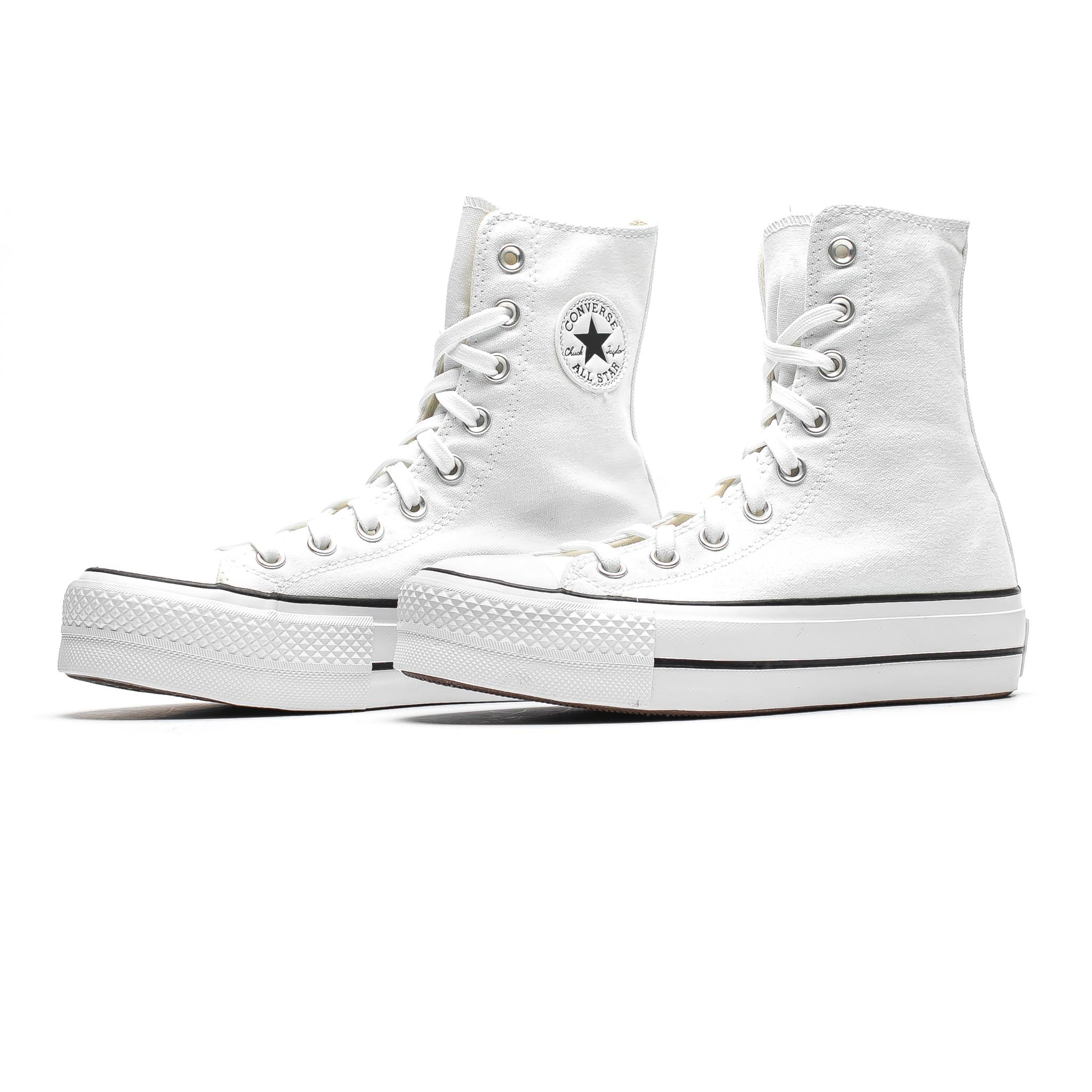 Converse Chuck Taylor All-Star Extra High Platform White