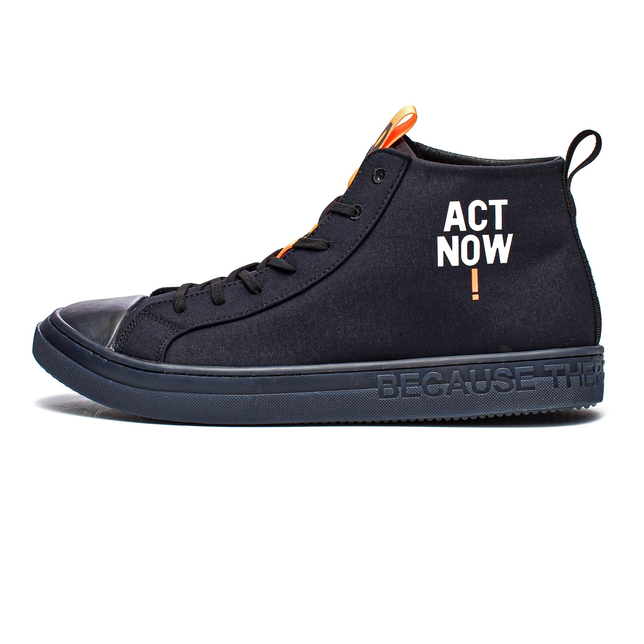 ECOALF Cool Hi-Top Black