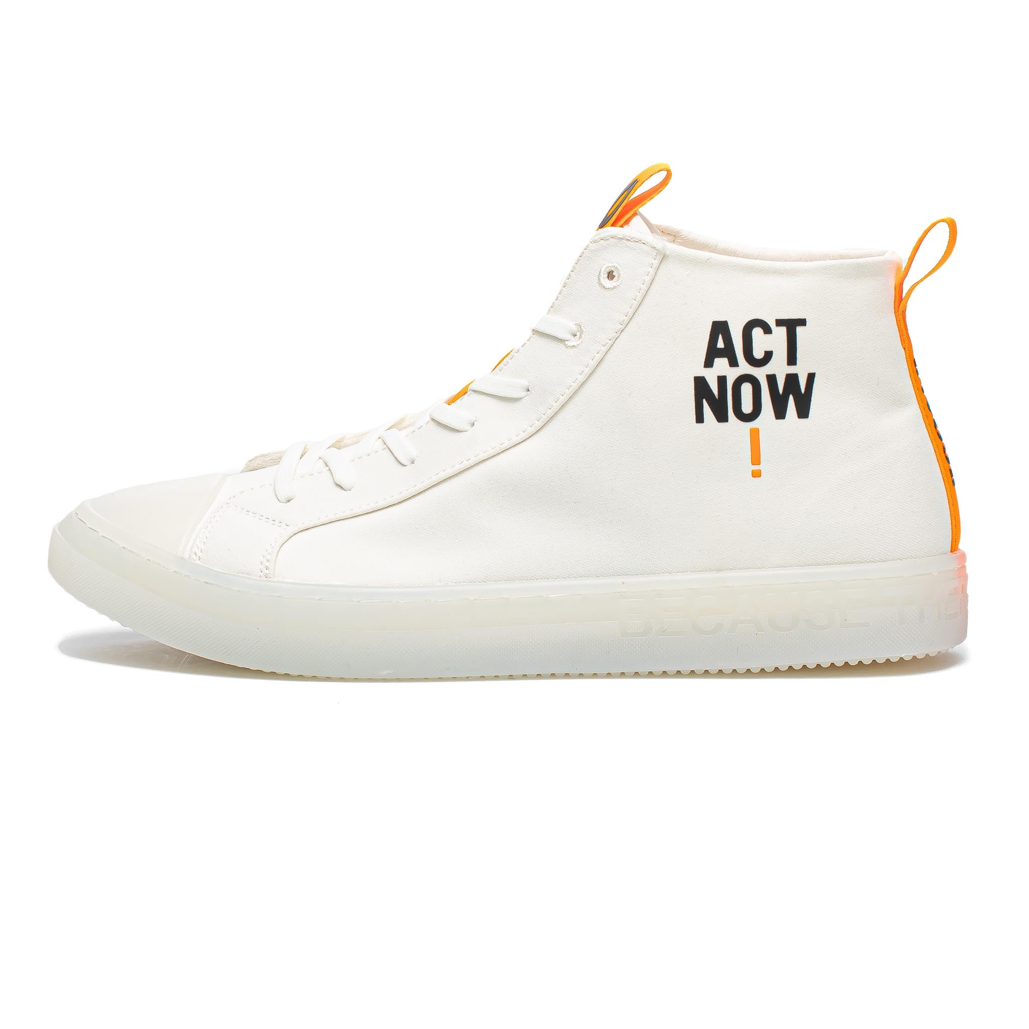 ECOALF Cool Hi-Top White