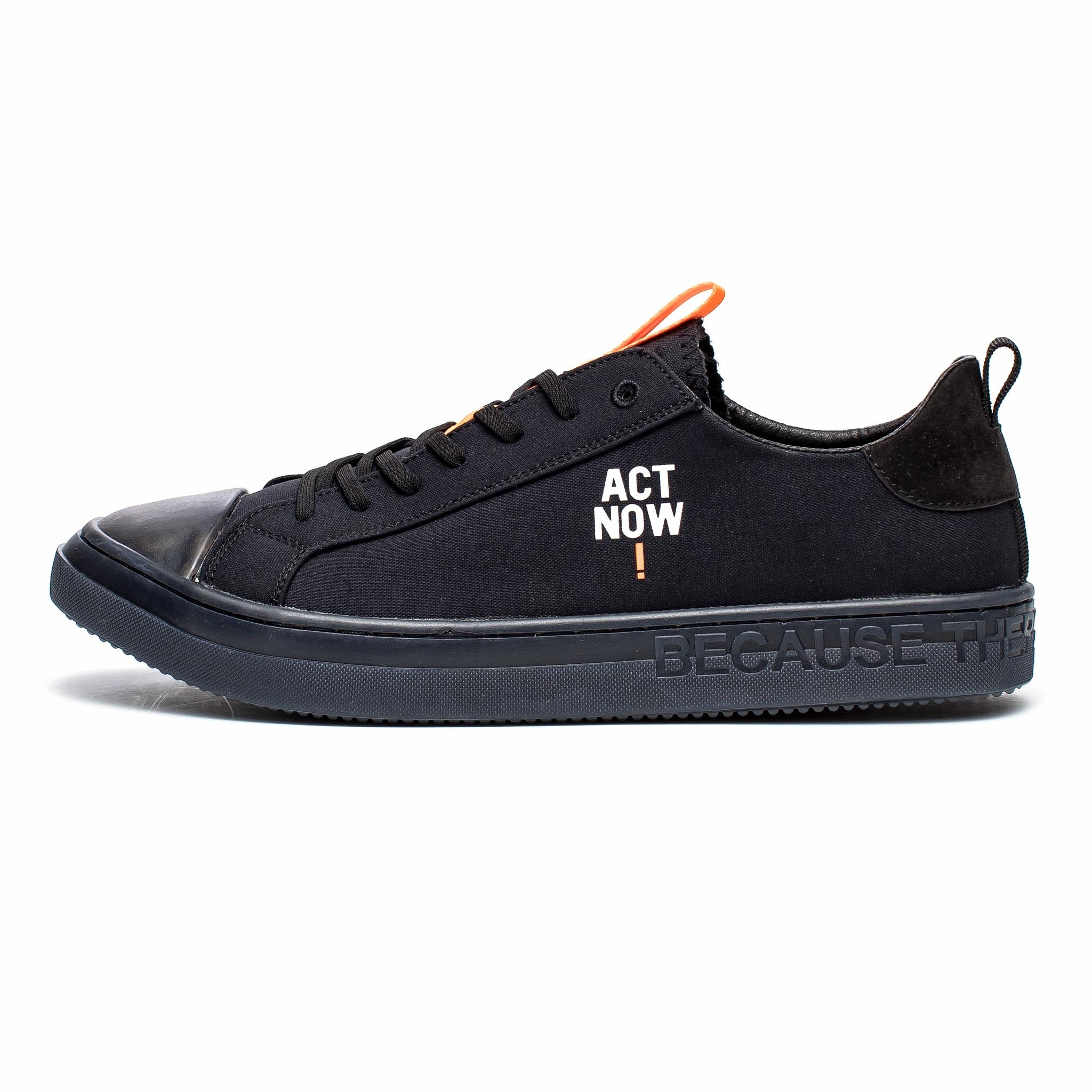 ECOALF Match Low-Top Black
