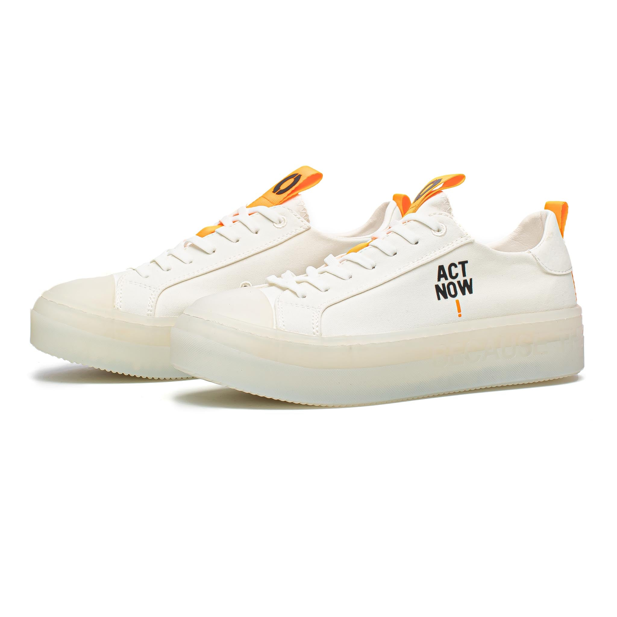 ECOALF Match Low-Top White