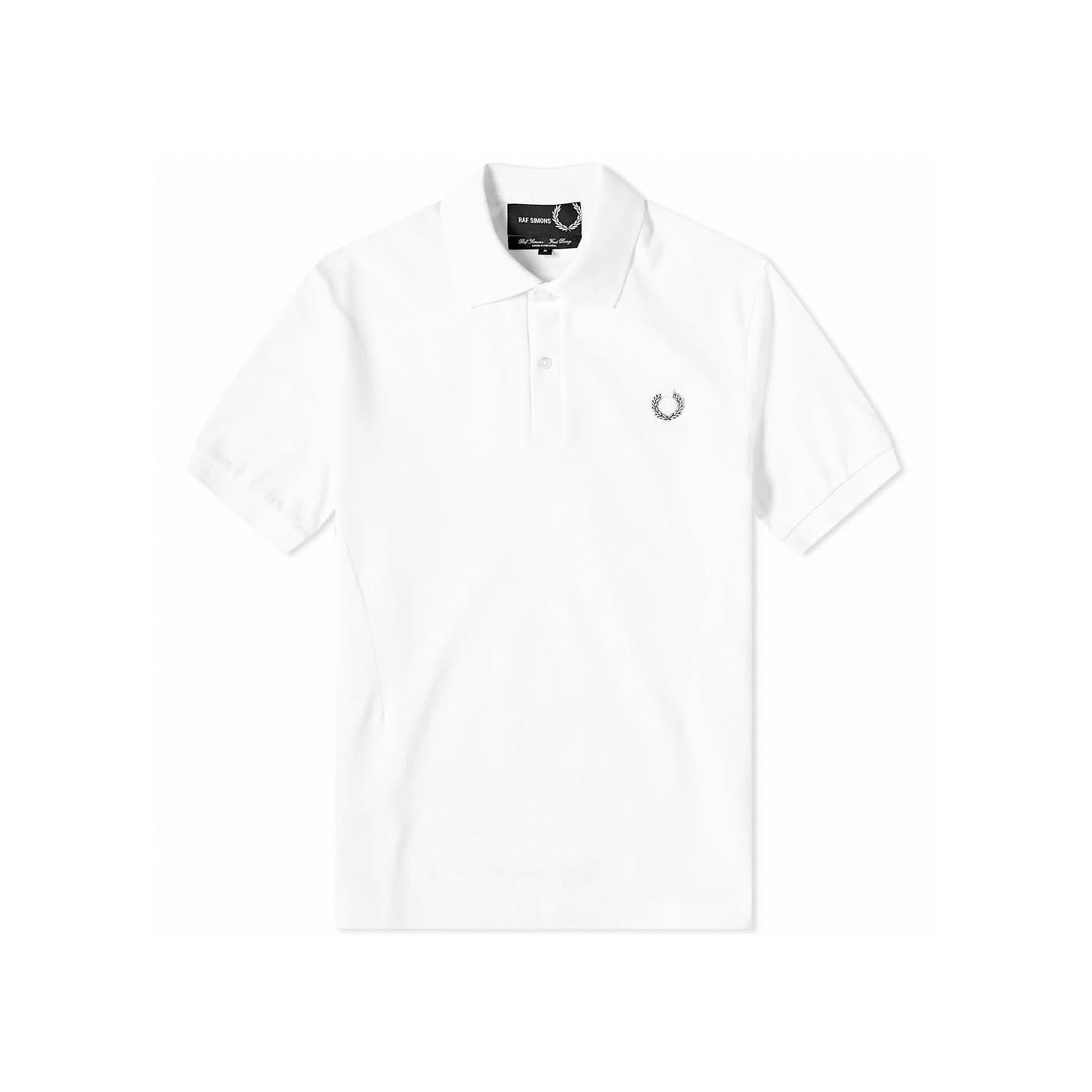Fred Perry x Raf Simons Laurel Wreath Detail Polo White