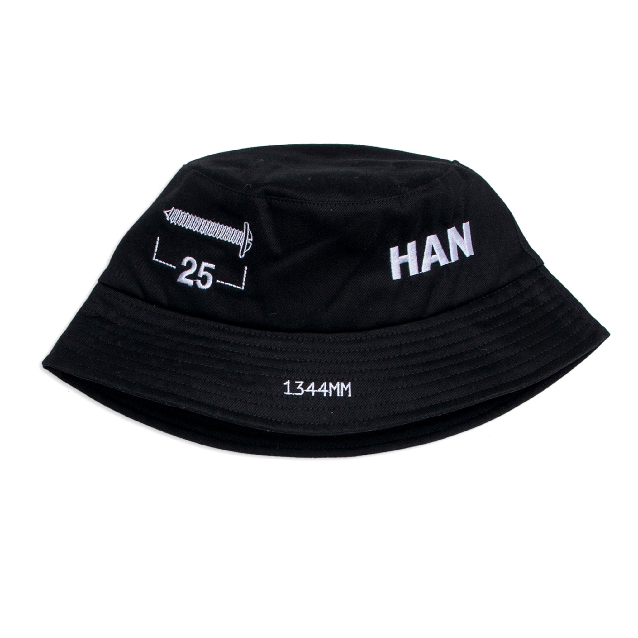 Han Kjobenhavn Dimensions Bucket Hat Black