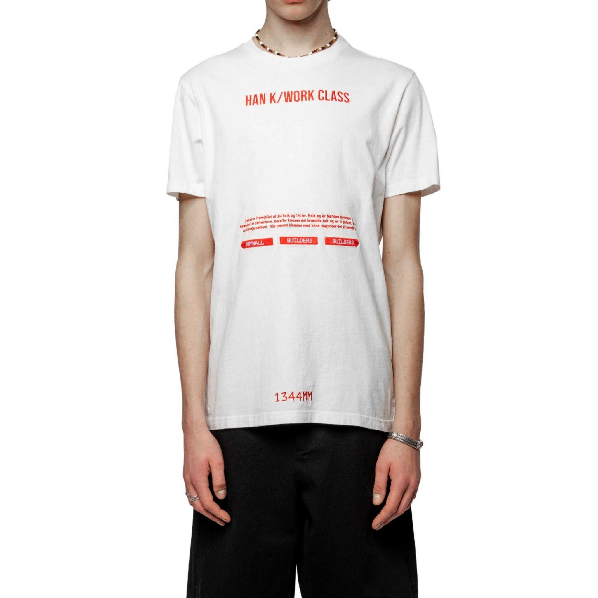Han Kjobenhavn Artwork Tee Off White