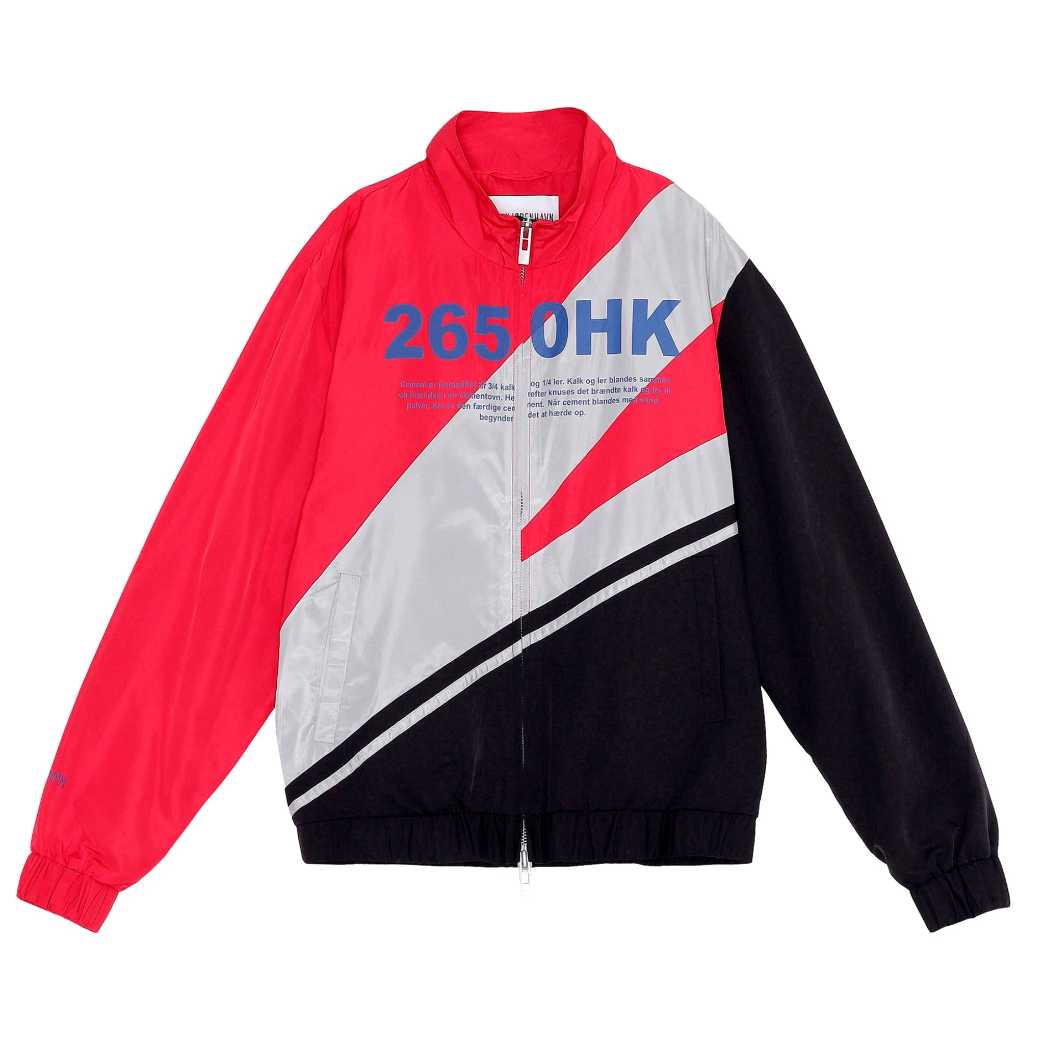 Han Kjobenhavn Track Top Black/Red/White