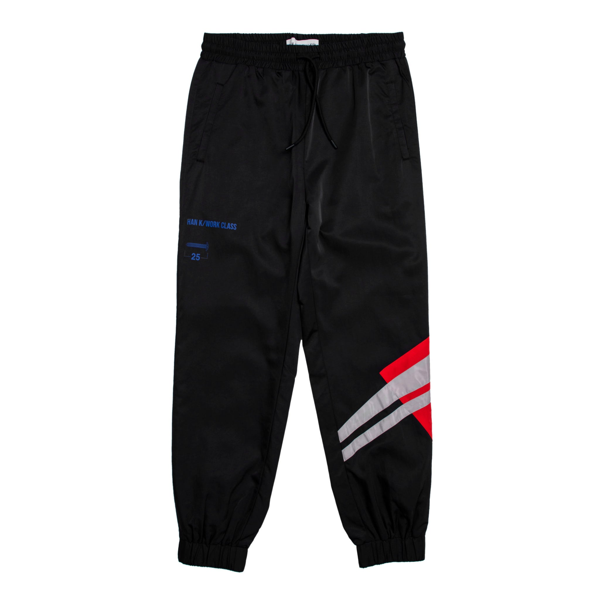Han Kjobenhavn Track pants Black/Red/White