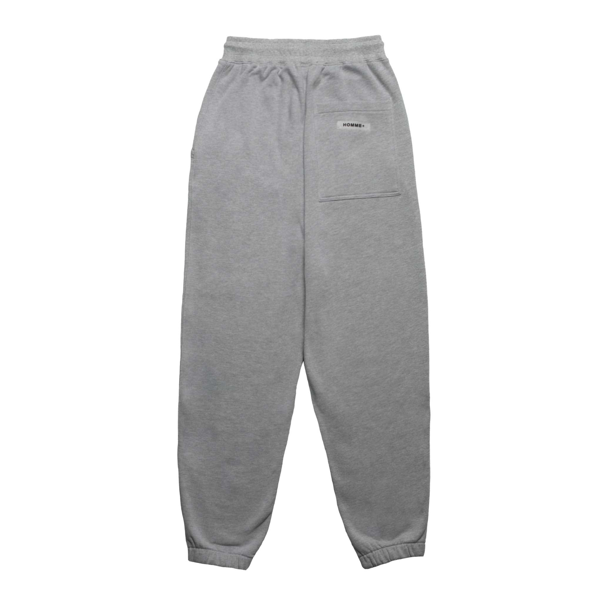 HOMME+ 'ESSENTIAL' Knit Jogger Heather Grey